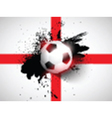 Grunge football soccer background vector image vector image