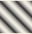 halftone seamless pattern monochrome background vector image
