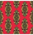 Red Unusual Seamless Pattern vector image vector image