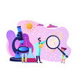 science camp concept vector image vector image