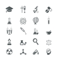 science icons vector image