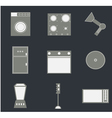 Set of household icons vector image