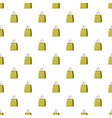 shopping bag pattern vector image vector image