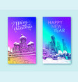 trendy cover templatemoscow city business center vector image vector image