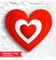 valentines day beautiful background vector image vector image