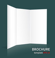 brochure layouts on a green background-01 vector image