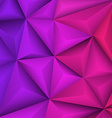 Abstract geometrical violet background vector image vector image