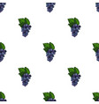 bunch of grapes icon in cartoon style isolated on vector image vector image