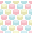 cakes seamless vector image vector image