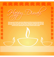 Diwali card vector | Price: 1 Credit (USD $1)