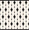 elegant vertical geometric seamless pattern vector image vector image
