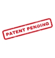 Patent Pending Rubber Stamp vector image
