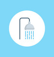 shower icon sign symbol vector image vector image