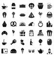 big bounty icons set simple style vector image vector image