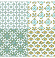 decorative geometric seamless pattern traditional vector image vector image