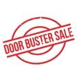 Door Buster Sale rubber stamp vector image vector image