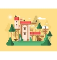 Farmland real estate design flat vector image vector image
