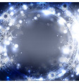 festive postcard with glowing sparkles and vector image vector image