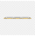 high speed train icon cartoon style vector image