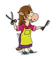 horse hairdresser professions abc alphabet h