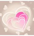 love heart3 vector image vector image