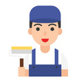 painter icon profession and job vector image vector image