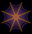 spider web cobweb background vector image vector image