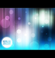Blue And Violet Circles Background vector image