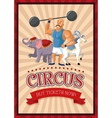 cartoons of circus festival vector image