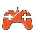 game controller icon image vector image vector image