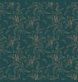lily pattern modern floral pattern elegant vector image