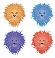 Lion Face4 vector image vector image