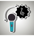 musical concept design vector image vector image