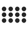 zodiac constellations set vector image