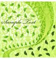 vegetative abstract background vector image
