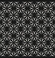 abstract seamless pattern small dotted flowers vector image vector image