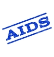 AIDS Watermark Stamp vector image