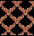 creative hand-drawn abstract seamless pattern vector image vector image