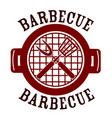 delicious barbecue utensil design stock icon vector image