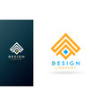 home logo type stylish design vector image vector image