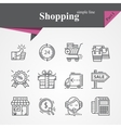 Shopping Part I vector image vector image