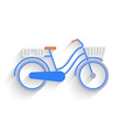 Bike for the city Flat Design vector image