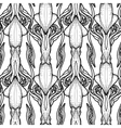 Graphic squid pattern vector image vector image