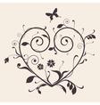 Heart Vintage vector image vector image