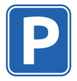 parking no resize vector image