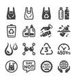 plastic icon vector image