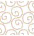 seamless background decorative drawn nautilus vector image