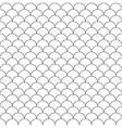 simple seamless pattern fish scales vector image vector image