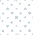snowflake pastel blue white background vector image vector image