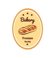 Sticker Bakery Premium Quality vector image